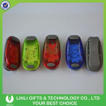 Multicolor Safe LED Clip Safe Light, Light Up Running/Cycling/Dog Collar Lights/Bike Light, Warning Safe Light