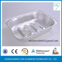 SGS CE ISO Certification aluminium foil lunch packaging box