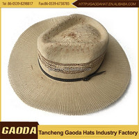 Alibaba china supplier cheap felt cowboy hats