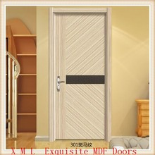 New design hotel room/bedroom/apartment room Melamine MDF interior door Made in china