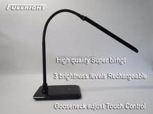 High quality Rechargeable Dimmable portable luminaire table lamp rechargeable cordless table lamp