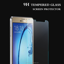 Customized tempered glass screen protector for sam on7 Color protector films 5.5 inch front & rear carton screen protector