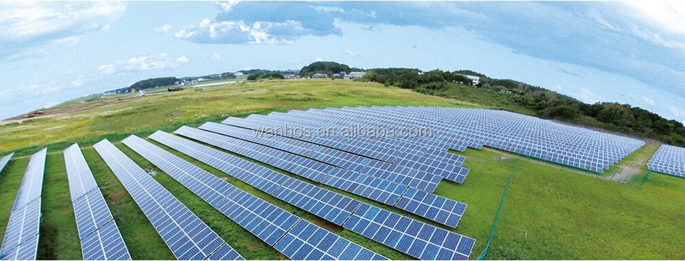 solar panel ground mount kit