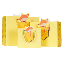 Top selling products die cut design customised paper bag
