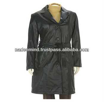 Leather Long Coats , mens long coat
