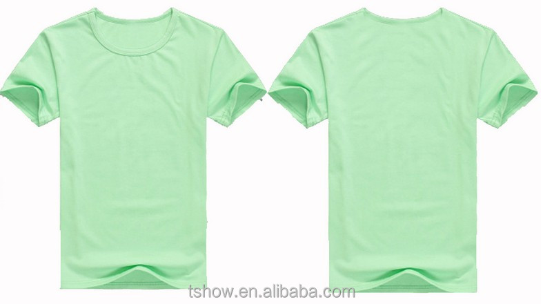double Interlock hemp organic cotton t shirts wholesale,dropship T-shirt