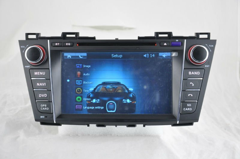 WITSON Mazada 5 gps navigation with Auto Rear View Function