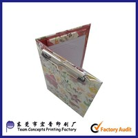 paper cardboard Travel Document Folder With Clip