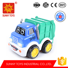 shantou chenghai toy factory 2 channel truck rc tracked vehicle with light