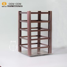OME new design multifunction aluminum jewelry display turntable stand