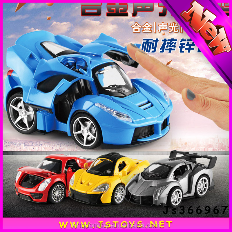 2016 wholesale Infrared sensor alloy toy diecast model die cast