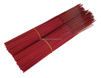 "Red Small Incense, Handmade Type 10.5"" Incense Stick"