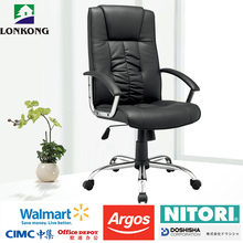 Modern Luxury Black Color Commercial Leather Computer Pu Office Chair