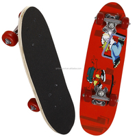 2106SB-3VC4828A chinese maple wooden four pvc wheel kid mini graphic skateboard