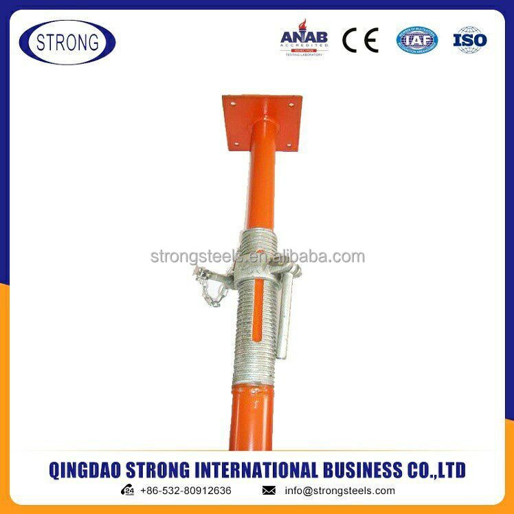 Building Material/ Construction Scaffolding Adjustable Steel Shoring Prop