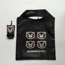 FSB033 Kumamon bear nylon shopping bag animal foldable bag style