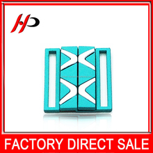 Factory price wholesale custom metal die casting belt buckle markers for fashionable clothes