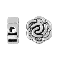 zinc alloy flat metal beads for DIY Jewelry making