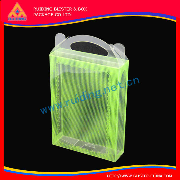 portable and standard transparent plastic power bank packaging box for cell phone case