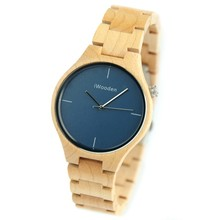 Latest Eco-friendly Slimstone Wood Watches Custom Design for Ladies