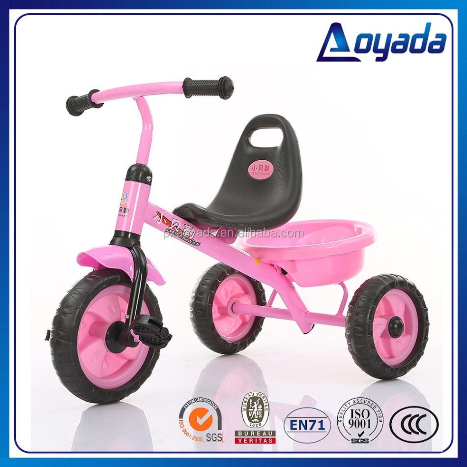 Good quality baby tricycle with air tire/ 3 wheel tricycle / tricycle bike wholesale
