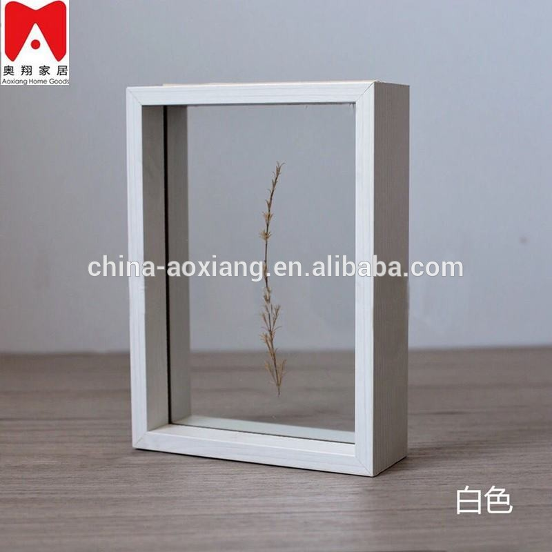 China manufacture photo frame factory, Unique antique home decoration floating glass jewelry box picture frame