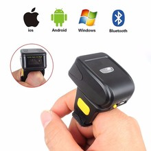New 32 Bit wireless ring bluetooth barcode scanner for smartphone