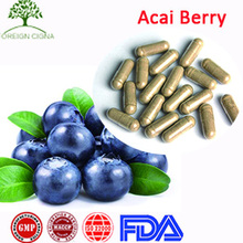 Dietary Supplement Halal Weight Loss Diet Slimming Acai Berry Capsules