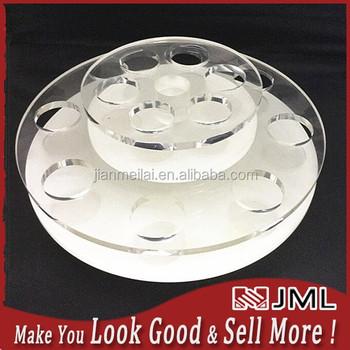 Jml Display Factory!! Tope Sale Acrylic Cosmetic Display,Round ...