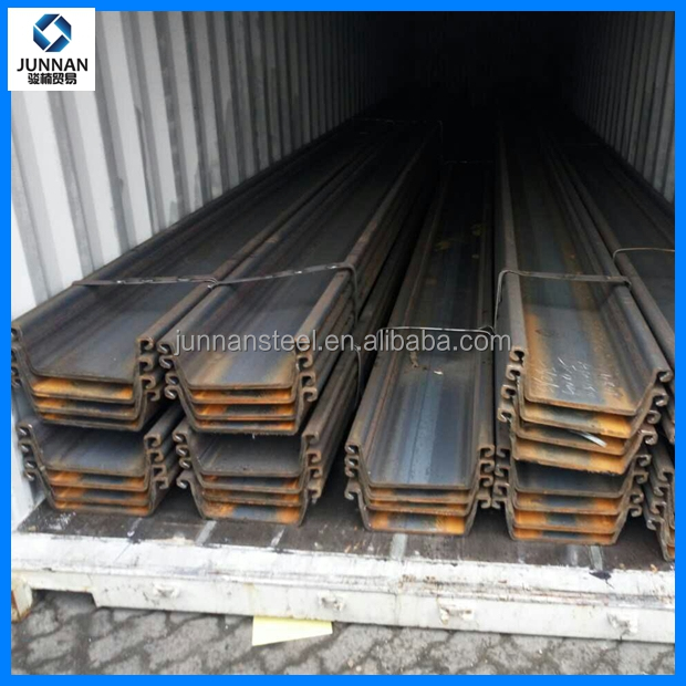 sheet piles manufacturers Z type steel sheet pile hot rolled