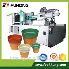 Ningbo fuhong 238ton plastic flower pot injection molding machine with servo motor