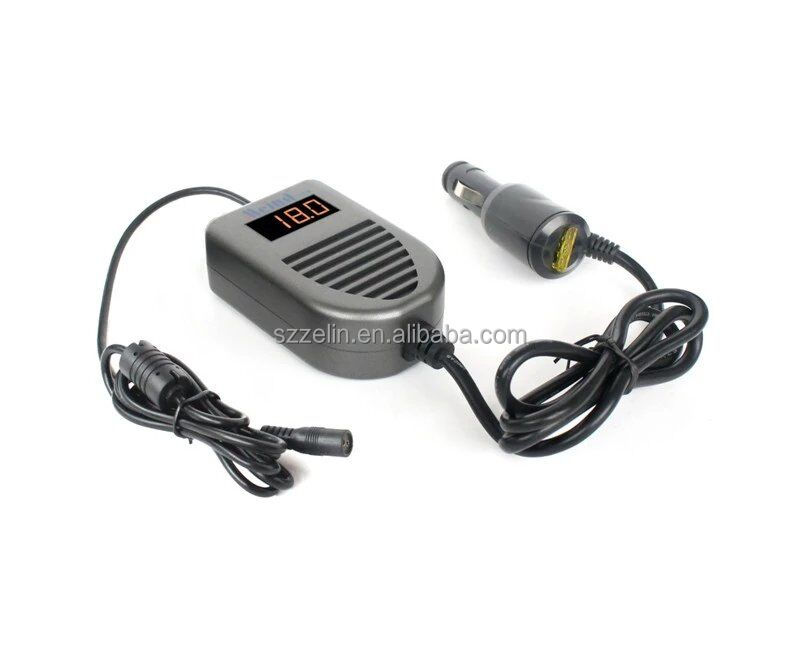 Universal 90W DC USB Port LED Auto Car Adapter Power Supply Adapter For Car Laptop Notebook