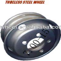 Tubeless Used Semi Truck Wheels