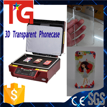 3D Sublimation phonecase printer machine, sublimation vacuum oven for 3D transparent phonecase printing
