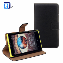 High Quality Genuine Leather Phone Cover Flip Folio Protective Handmade With Credit Card Holder Wallet Case For Nokia 1020