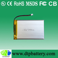 li-polymer 3.7v 4100mah battery for power bank