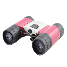Hot selling promotional logo printed plastic cheap toy binoculars