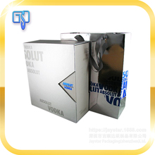 Hard strong corrugated paper printing cell phone well-protection for electric accessories packaging box