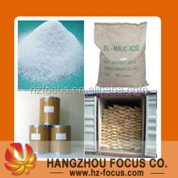 Food grade DL-Malic Acid,L-Malic Acid from China professional factory