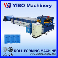 corrugated metal galvanized roofing sheet pile roof cold roll forming machine