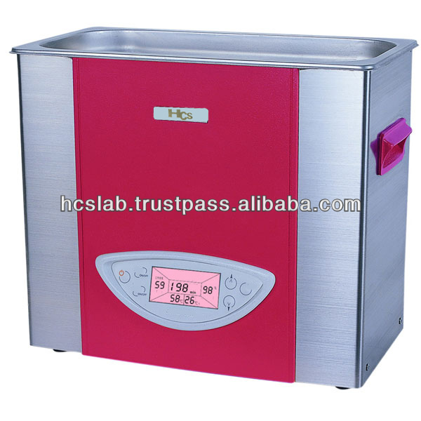 HCS Power Adjustable Desk-top Ultrasonic Cleaner (heat)