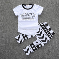 Promotional Casual Baby Clothing Sets Made of Natural Healthy Cotton