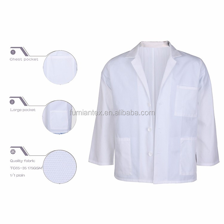 Top Quality High End Quality-Assured Lab Coats Wholesale For Children
