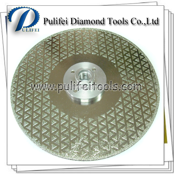 4'' 5'' 6 inch 7 inch 8 inch 9 inch Electropated Diamond Coated Segment Cutting Blade Cutting Glass Marble Ceramic Tile