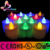 RGB color changing LED flameless candle