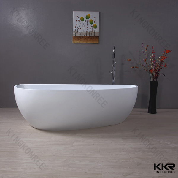 Oval shape baths / bathtub sizes solid surface freestanding bathtub