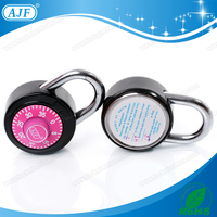 AJF 50mm high quality metal girl gym password padlock
