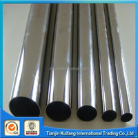 welded polished 304 metric stainless steel tubing