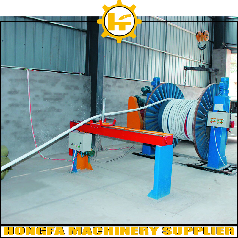 High speed low noise electrical coaxial wire cable making equipment