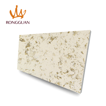 Cheap price custom artificial quartz stone dining table top